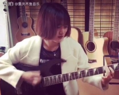 重庆电吉他电吉他培训funk girl